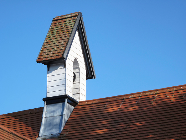 Church「Small timber bell tower on church building」:写真・画像(12)[壁紙.com]