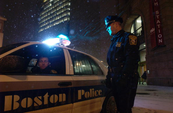 Boston - Massachusetts「Boston Police Patrol Amid Possible Terror Threat」:写真・画像(7)[壁紙.com]