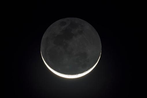 UNESCO World Heritage Site「Zimbabwe, new moon at night」:スマホ壁紙(11)