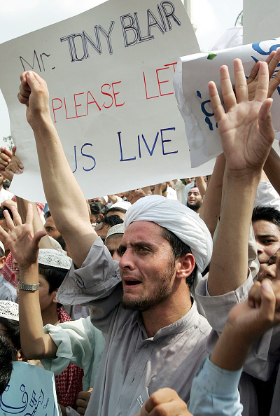 Human Arm「Pakistani Religious Students Protest Government Crackdown」:写真・画像(15)[壁紙.com]