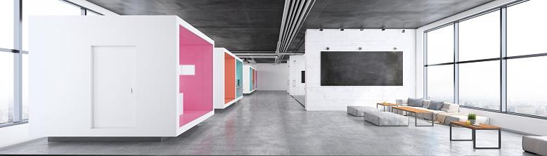 Open Plan「Modern open plan office interior」:スマホ壁紙(6)