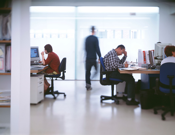 Open Plan「Modern open plan office space.」:写真・画像(12)[壁紙.com]