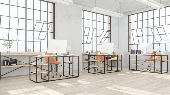 Open「Modern open office space」:スマホ壁紙(11)
