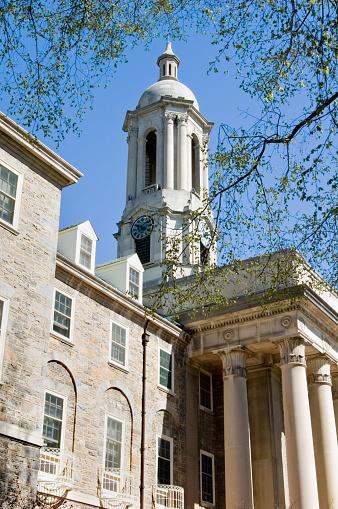 Pennsylvania「Penn State Campus Old Main College Building」:スマホ壁紙(3)