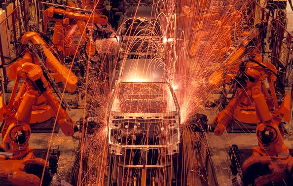Mode of Transport「Automated car production line, MG Rover, Longbridge, Birmingham, United Kingdom」:写真・画像(17)[壁紙.com]