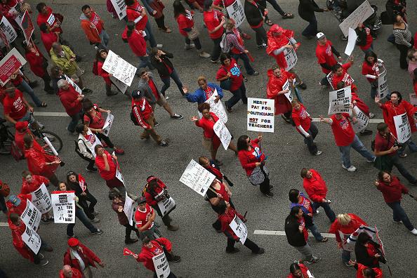 Labor Union「Chicago Teacher's Union Strike Continues」:写真・画像(7)[壁紙.com]