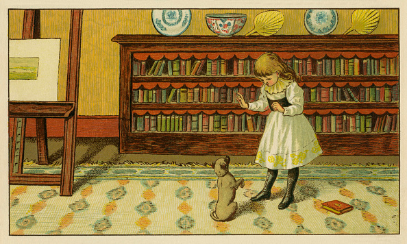 Classical Style「Victorian child and pet dog」:写真・画像(8)[壁紙.com]
