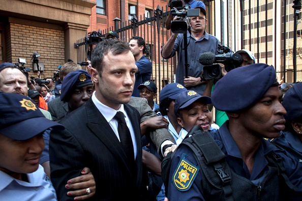 Oscar Pistorius「Oscar Pistorius Is Convicted Of Culpable Homicide Of Girlfriend Reeva Steenkamp」:写真・画像(3)[壁紙.com]