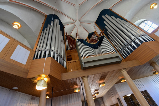 UNESCO「Pipe organ in church, Gammelstad Church Town, Old Luleà, Sweden」:スマホ壁紙(15)