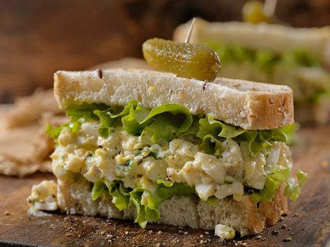 Condiment「Egg Salad Sandwich with Crispy Bacon」:スマホ壁紙(19)