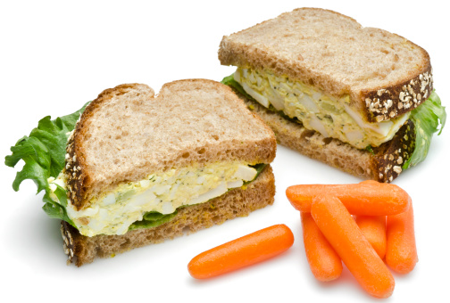 Loaf of Bread「Egg salad sandwich lunch」:スマホ壁紙(13)
