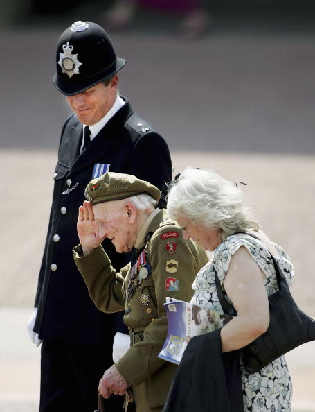 Architectural Feature「60th Anniversary Of End Of WWII - Buckingham Palace Flypast」:写真・画像(7)[壁紙.com]