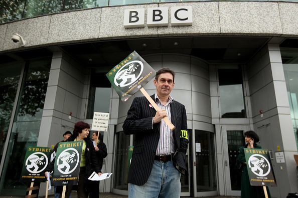 Corporate Business「BBC Journalists Strike Over Pensions」:写真・画像(10)[壁紙.com]