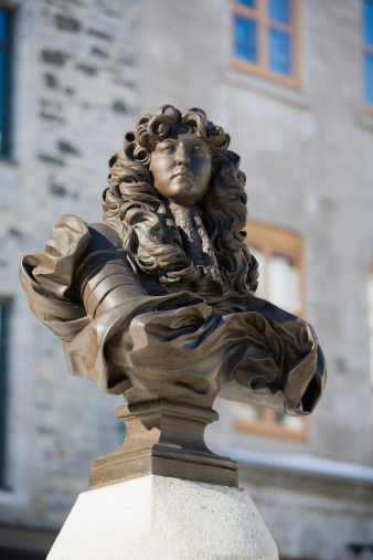 Louis XIV Of France「Canada, Quebec, Quebec City, Statue of King Louis XIV at Place Royale」:スマホ壁紙(2)