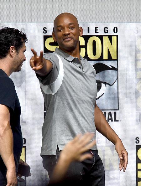 俳優 ウィル・スミス「Comic-Con International 2017 - Netflix Films: 'Bright' And 'Death Note' Panel」:写真・画像(1)[壁紙.com]