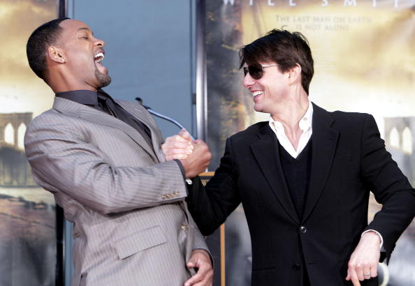Hollywood - California「Will Smith Hand and Footprint Ceremony at Grauman's Chinese Theatre」:写真・画像(14)[壁紙.com]