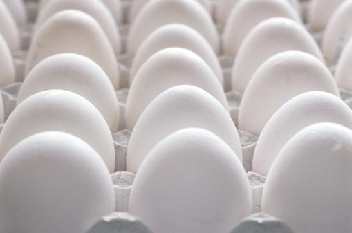 豊富「Tray of eggs, close up」:スマホ壁紙(5)