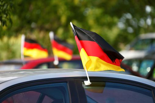 German Culture「World Cup German Flags on Cars」:スマホ壁紙(18)