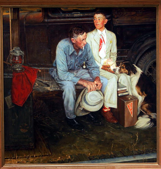 Painted Image「Missing Norman Rockwell Painting Found After 35 Years」:写真・画像(19)[壁紙.com]