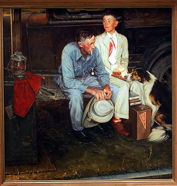 Missing Norman Rockwell Painting Found After 35 Years:ニュース(壁紙.com)
