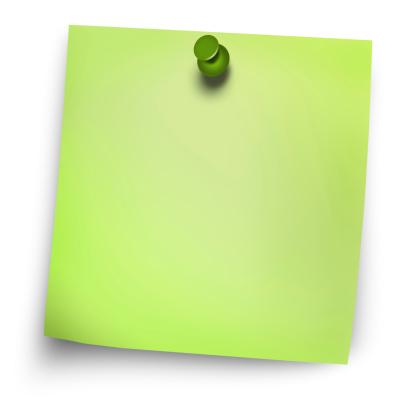 Vector「グリーン postit」:スマホ壁紙(18)