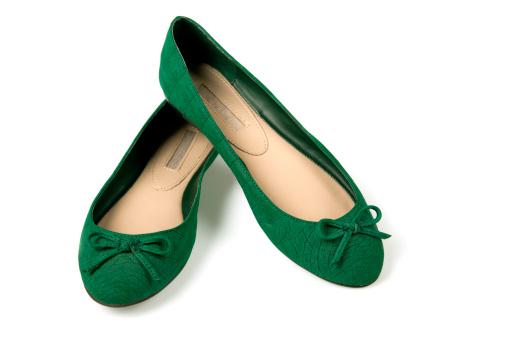 ペア「緑色の靴」:スマホ壁紙(4)