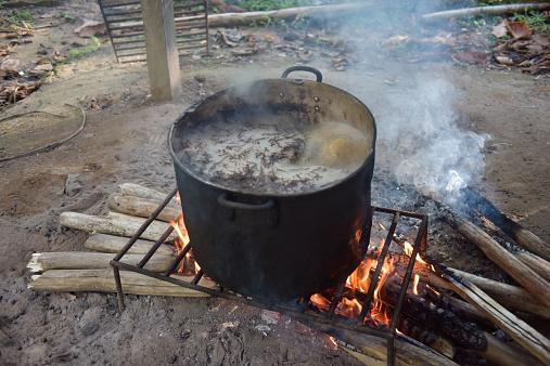Indigenous Culture「Ayahuasca cooking」:スマホ壁紙(13)