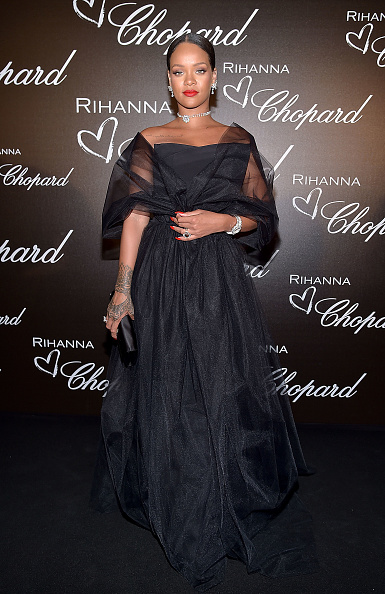 光栄「Chopard Dinner in Honour of Rihanna and The Rihanna X Chopard Collection - The 70th Annual Cannes Film Festival」:写真・画像(11)[壁紙.com]