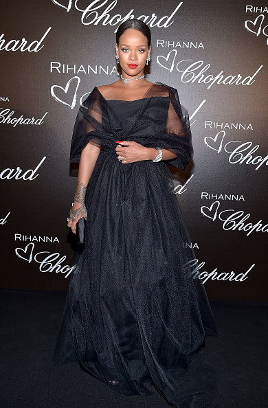 カンヌ国際映画祭「Chopard Dinner in Honour of Rihanna and The Rihanna X Chopard Collection - The 70th Annual Cannes Film Festival」:写真・画像(19)[壁紙.com]
