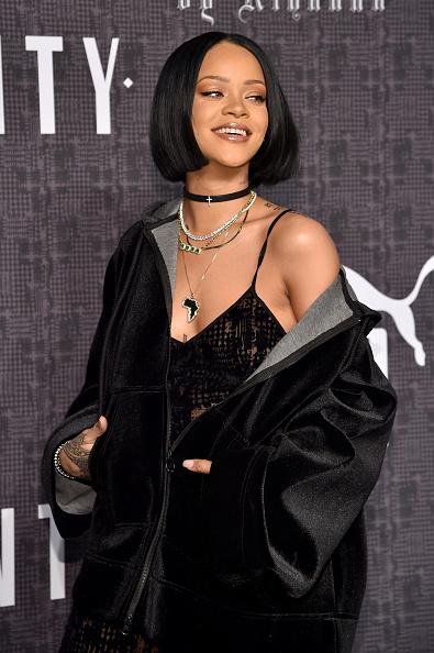 ニューヨークファッションウィーク「FENTY PUMA by Rihanna AW16 Collection - Arrivals - Fall 2016 New York Fashion Week」:写真・画像(19)[壁紙.com]