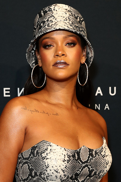 Portrait「Fenty Beauty by Rihanna Anniversary Event - Arrivals」:写真・画像(10)[壁紙.com]