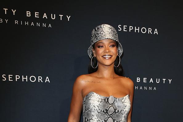 1人「Fenty Beauty By Rihanna Anniversary Event」:写真・画像(17)[壁紙.com]