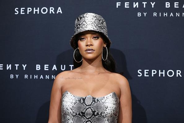 出席する「Fenty Beauty By Rihanna Anniversary Event」:写真・画像(5)[壁紙.com]