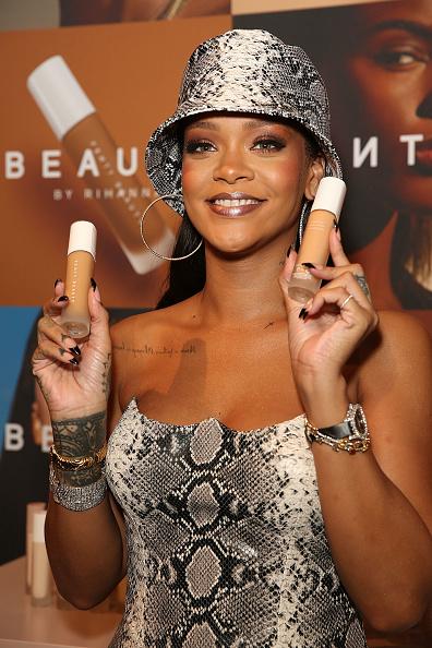 Beauty「Fenty Beauty By Rihanna Anniversary Event」:写真・画像(1)[壁紙.com]