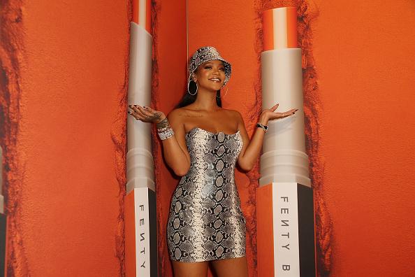 Rihanna「Fenty Beauty By Rihanna Anniversary Event」:写真・画像(15)[壁紙.com]