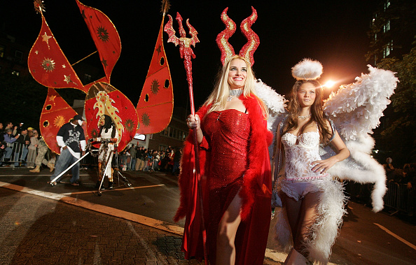Costume「New York's World Famous Halloween Parade Winds Through Big Apple」:写真・画像(13)[壁紙.com]