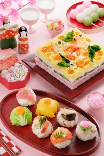 ひな祭り「Hinamatsuri feast」:スマホ壁紙(11)