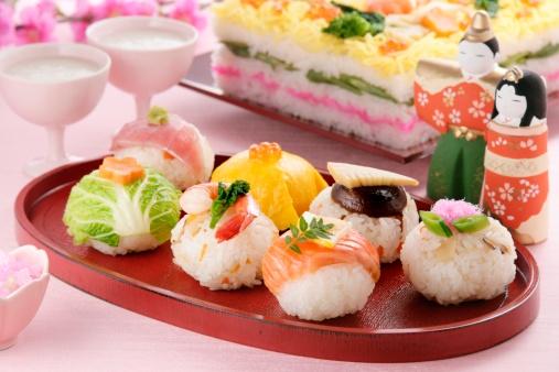 ひな祭り「Hinamatsuri feast」:スマホ壁紙(17)