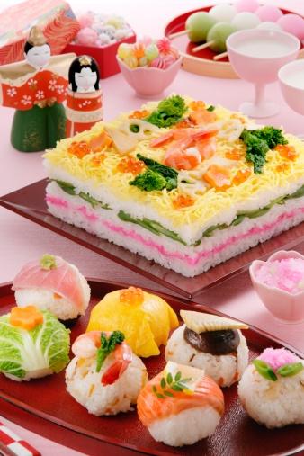 ひな祭り「Hinamatsuri feast」:スマホ壁紙(2)