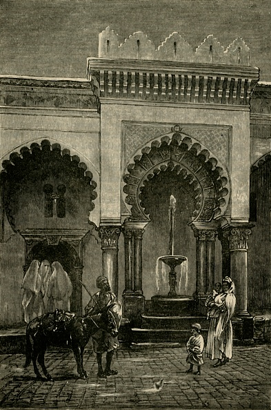 Fountain「Colonnade Of The Mosque Of Djamaa-El-Kebir」:写真・画像(10)[壁紙.com]
