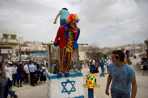 West Bank「Israel Celebrates Festival Of Purim」:写真・画像(15)[壁紙.com]