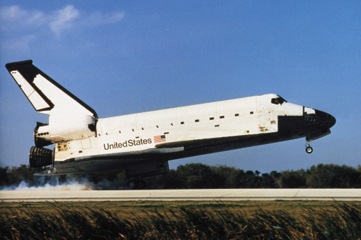 Airport Runway「Space shuttle Columbia」:スマホ壁紙(18)
