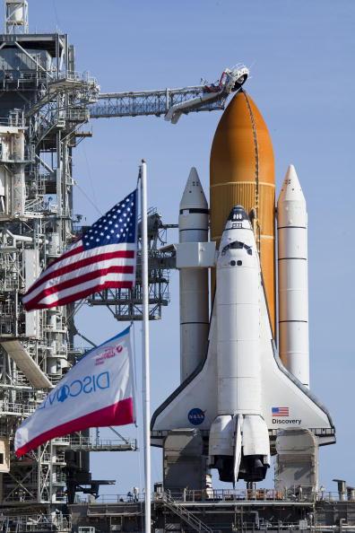 Matt Stroshane「NASA Prepares For Launch Of Space Shuttle Discovery」:写真・画像(9)[壁紙.com]