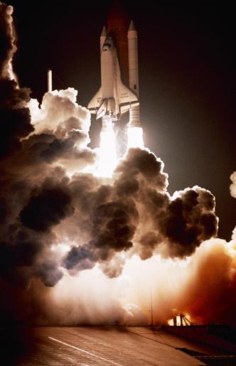 Solar System「Space shuttle launch」:スマホ壁紙(13)