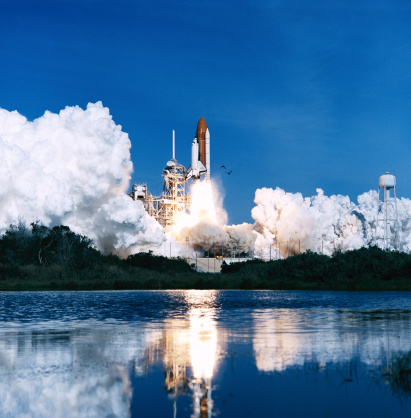 Smoke - Physical Structure「Space Shuttle launch」:スマホ壁紙(5)