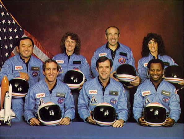Crew「(FILE PHOTO)  Space Shuttle Challenger Explodes」:写真・画像(1)[壁紙.com]