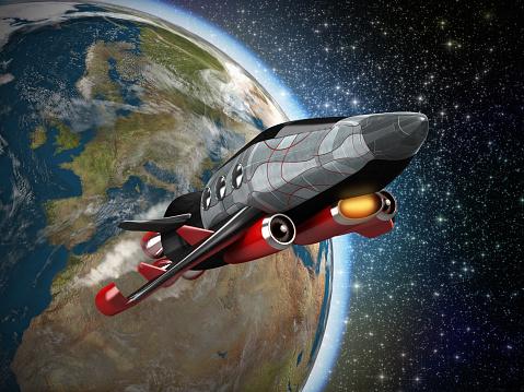 打ち上げロケット「スペースシャトル」:スマホ壁紙(18)