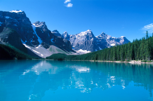 Moraine Lake「Moraine Lake and Rockies」:スマホ壁紙(6)