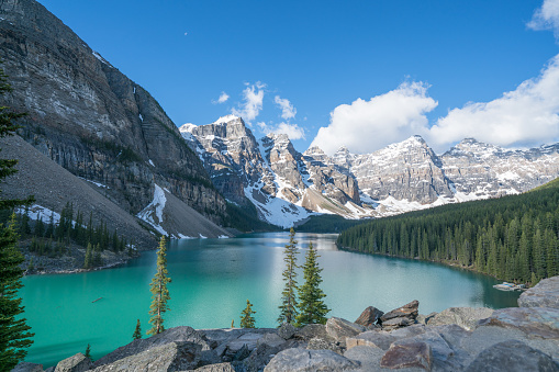 Twilight「Moraine lake, Banff national park, Canada」:スマホ壁紙(9)