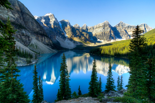 Moraine Lake「Moraine Lake, Banff National Park, Canada」:スマホ壁紙(8)